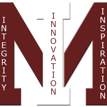 MIHS School Motto Logo